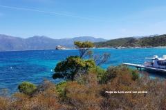 Maison d'hôte en Corse A Sulana plage du Loto et son ponton
