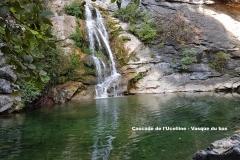 Maison d'hôte en Corse A Sulana Cascade de l'Ucelline vasque du bas