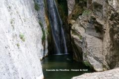 Maison d'hôte en Corse A Sulana Cascade de l'Ucelline vasque du haut