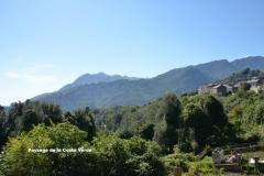 Maison d'hôte en Corse A Sulana autre paysage de la Costa Verde