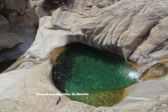 Maison d'hôte en Corse A Sulana vasque aux aiguilles de Bavella