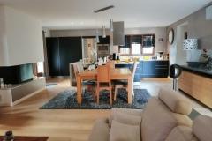 Maison d'hôte en Corse A Sulana notre espace salon cuisine