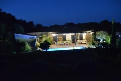 Maison d'hôte en Corse A Sulana ambiance soirée d'été