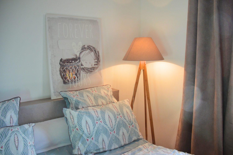 Maison hôte A Sulana en Corse chambre Nuciolla lampe