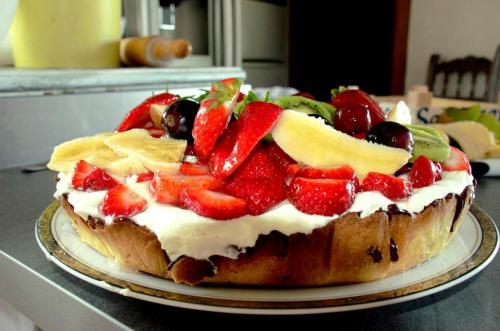 Maison d'hôte en Corse A Sulana tarte aux fruits