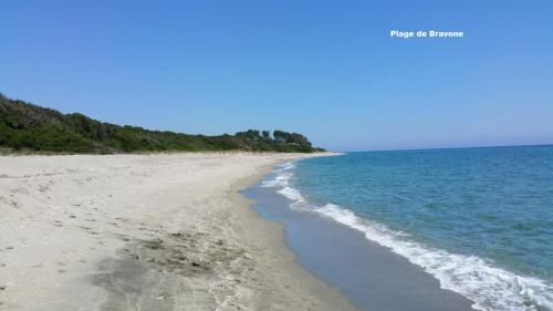 Maison d'hôte en Corse A Sulana la plage de Bravone