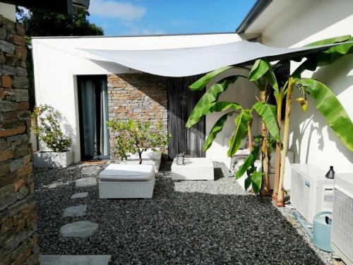 Maison d'hôtes A Sulana en Corse - exterieur chambre Castagniccia 1 -