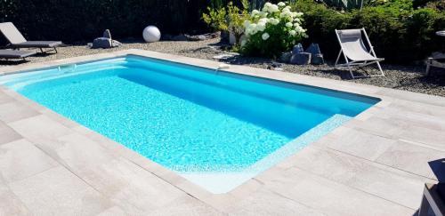Maison d'hôtes A Sulana en Corse - la piscine -