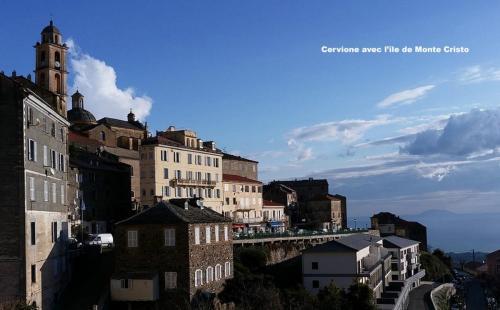 Maison d'hôte en Corse A Sulana Cervione et l'île de Monte Cristo