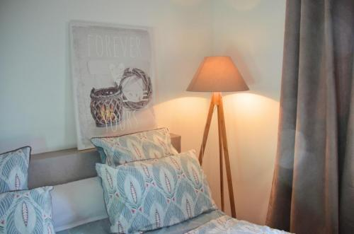 Maison hôte A Sulana chambre Nuciolla lampe