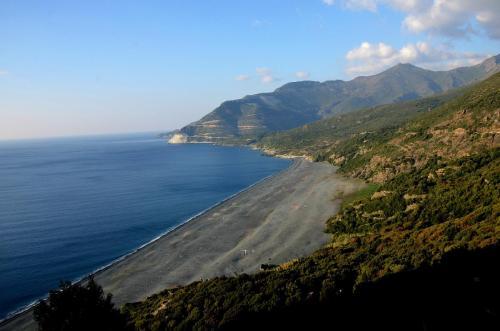 Maison d'hôte en Corse A Sulana la plage de Nonza